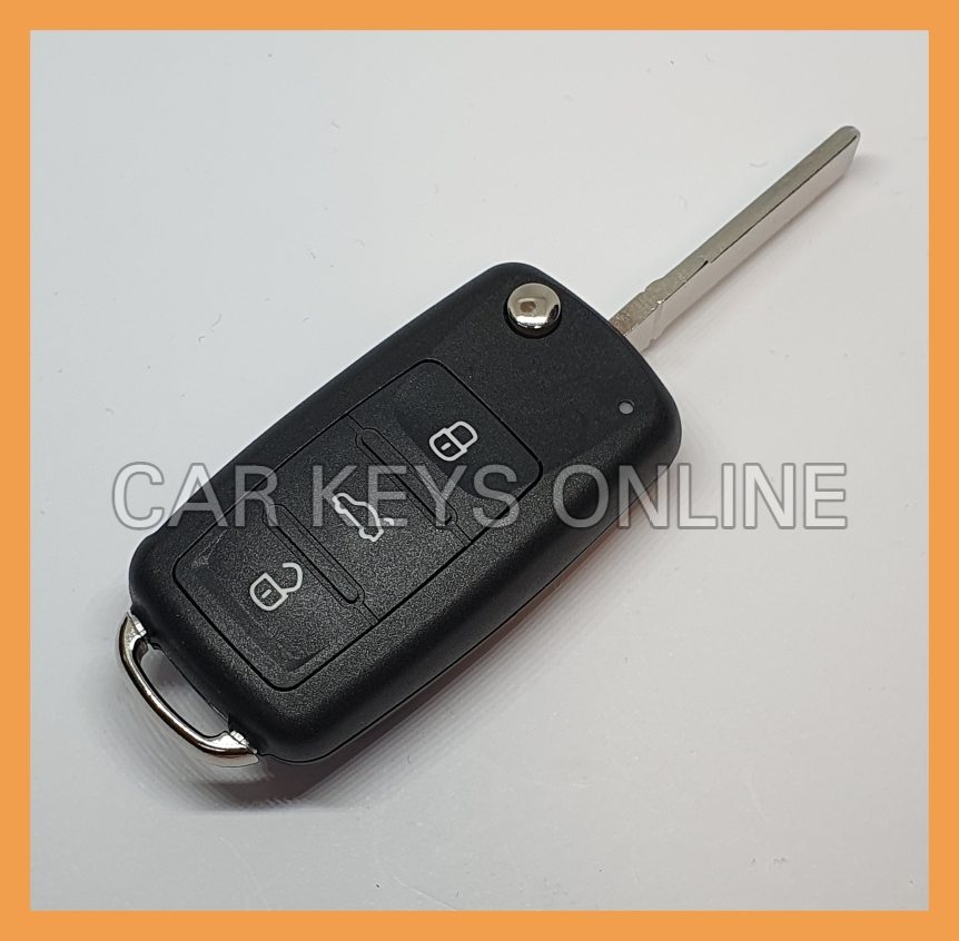 OEM Remote Key for Volkswagen (5K0 837 202 AJ ROH) - With KESSY