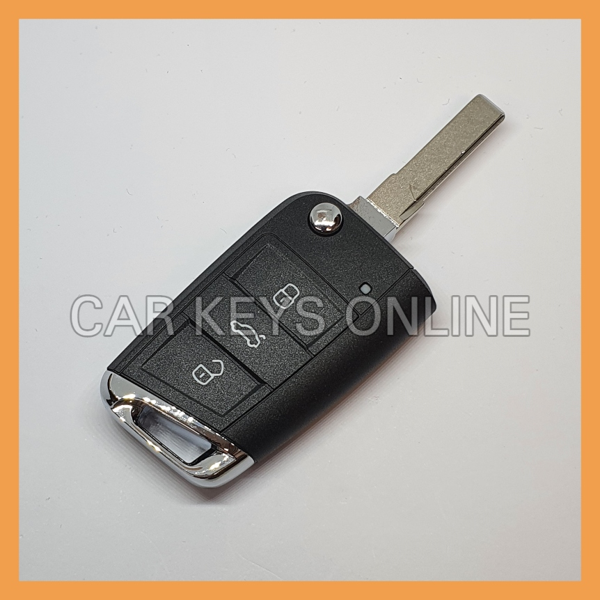 Aftermarket Remote Key for Volkswagen Golf 7 (5G0 959 752 DF ROH) - With KESSY