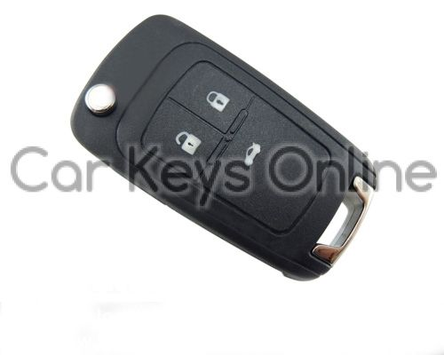 OEM 3 Button Remote Key for Chevrolet Cruze / Orlando