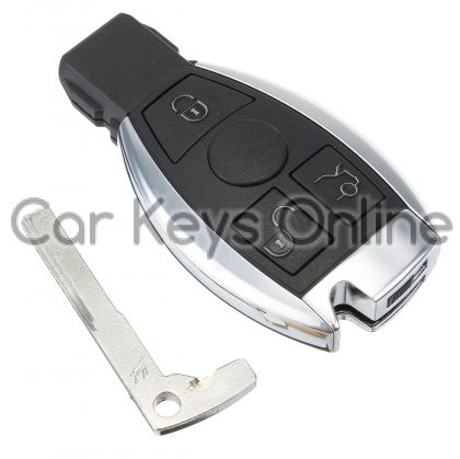 Aftermarket 3 Button IR Remote Key for Mercedes
