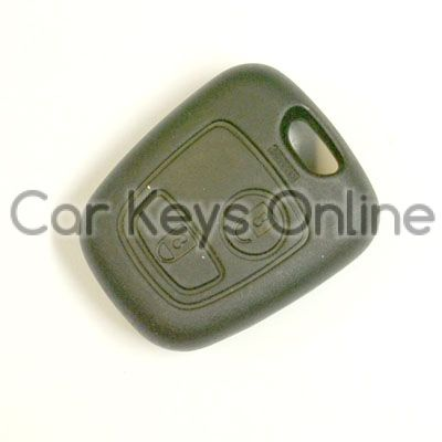 Peugeot 206 Remote Fob - No Fog Lights (6554 YQ)