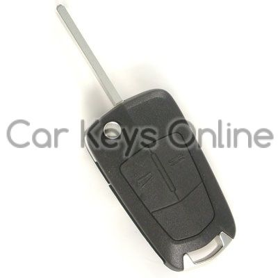 Aftermarket 2 Button Remote Key for Astra H / Zafira B