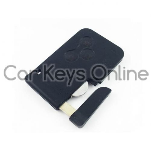 Aftermarket Remote Key Card for Renault Megane II / Scenic II