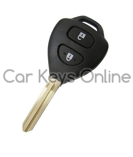 OEM 2 Button Remote Key for Toyota (89070-52820 / 89070-52710) - Japan Imports