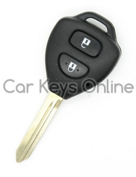OEM 2 Button Remote Key for Toyota Auris / Yaris (89070-02570)