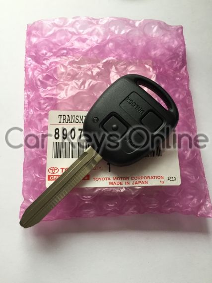 OEM 2 Button Remote Key for Toyota (89070-42212)