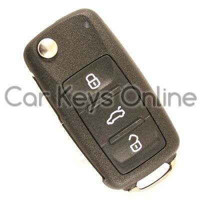 OEM Remote Key for Volkswagen (5K0 837 202 Q ROH)
