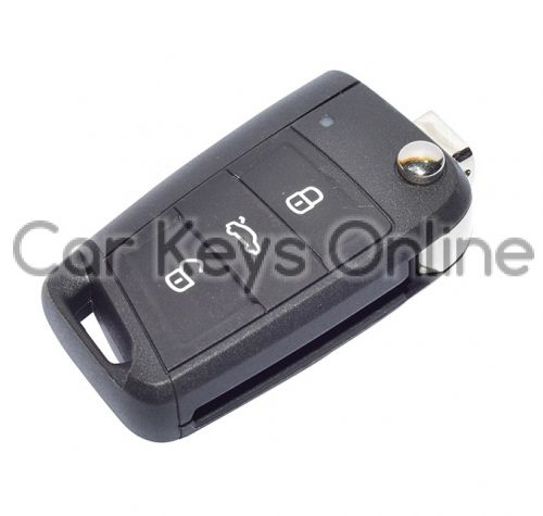 Aftermarket Remote Key for Volkswagen Polo / Tiguan (5G6 959 752 CF ROH) - Without KESSY