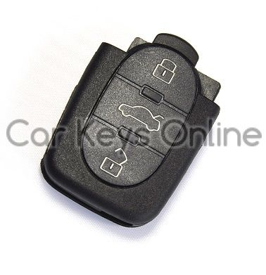 Aftermarket 3 Button Remote for Volkswagen Beetle (1J0 959 753 P)