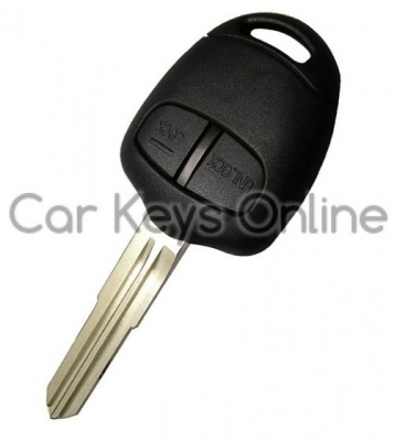 Aftermarket 2 Button Remote Key for Mitsubishi (MIT8)