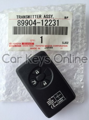 Genuine Toyota Corolla / Vios Smart Remote (B90EA) (89904-12231)